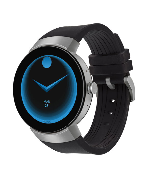 MOVADO Movado Connect3660016 – 46.5 mm display smartwatch - Side view