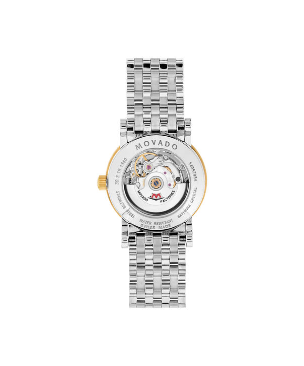 MOVADO Red Label0607011 – Montre automatique de 26 mm pour femmes - Back view