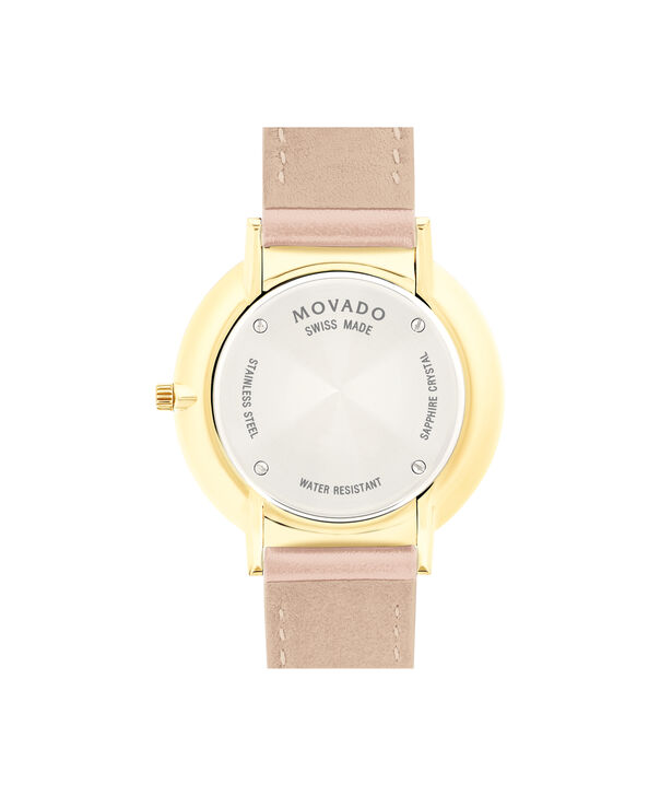 MOVADO Movado Ultra Slim0607401 – 35mm Ultra Slim on Strap - Back view