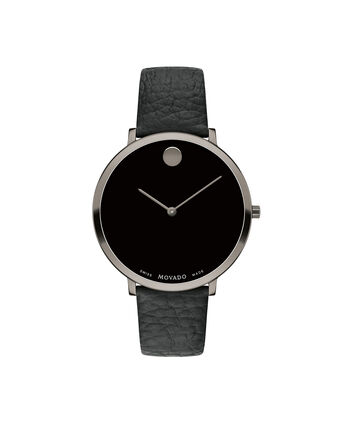 MOVADO Modern 470607340 – 35 mm Modern 47 on Textured Strap - Front view