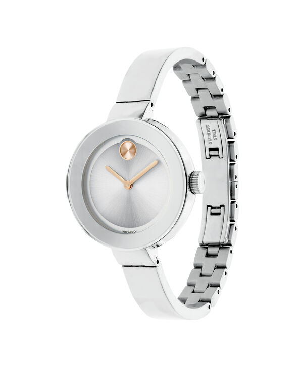 MOVADO Movado BOLD3600194 – 34 mm Metals bangle watch - Side view