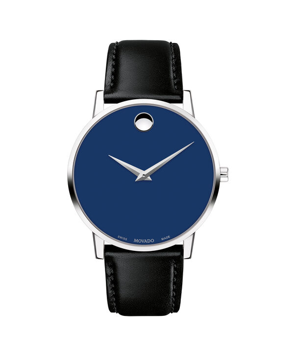 MOVADO Museum Classic0607270 – Men's 40 mm strap watch - Front view
