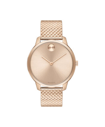 MOVADO Movado BOLD3600596 – 35mm BOLD Thin on Mesh - Front view