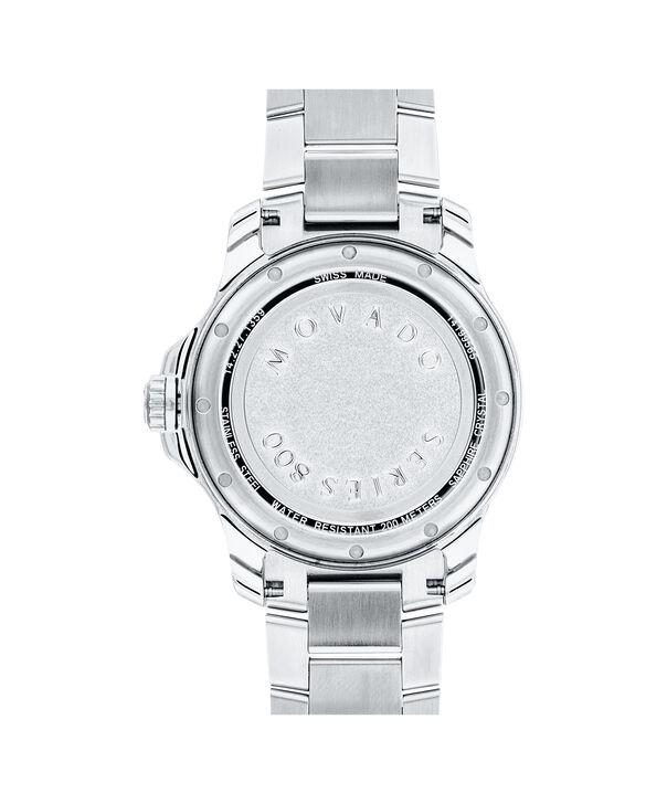 MOVADO Series 8002600137 – Men's 40 mm bracelet watch - Back view