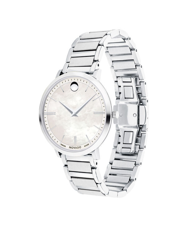 MOVADO Movado Ultra Slim0607170 – Women's 35 mm bracelet watch - Side view