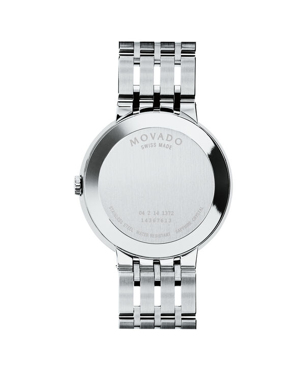 MOVADO Esperanza0607238 – Men's 39 mm bracelet watch - Back view