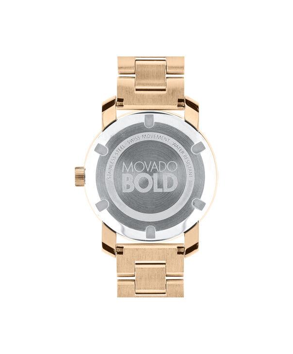 MOVADO Movado BOLD3600086 – 36 mm Metals bracelet watch - Back view