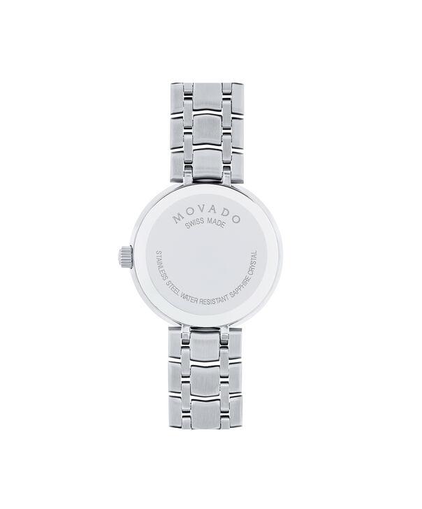 MOVADO 1881 Quartz0607097 – Montre à quartz de 28 mm à 2 aiguilles, pour femmes - Back view