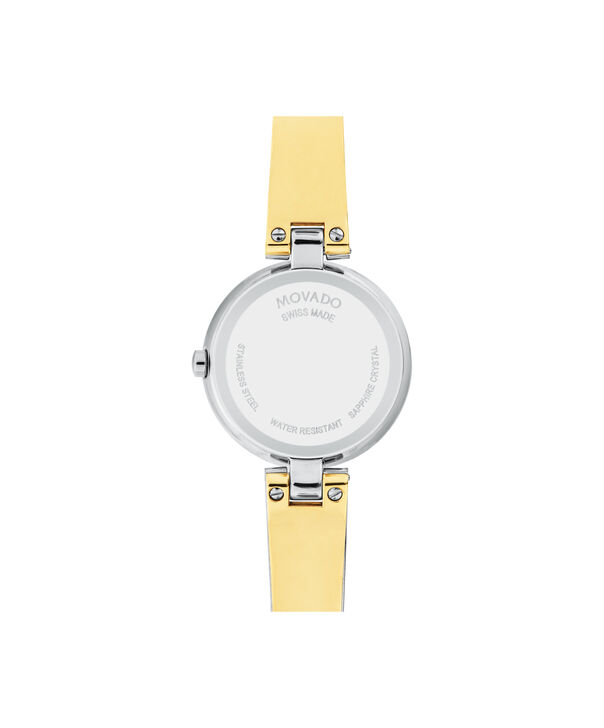 MOVADO Aleena0607150 – Women's 27 mm bangle watch - Back view