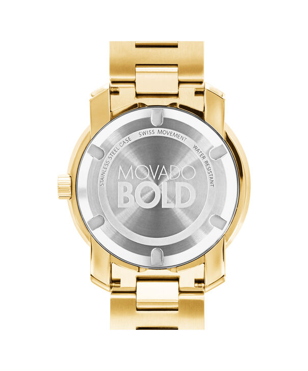 MOVADO Movado BOLD3600374 – 42.5 mm Metals bracelet watch - Back view
