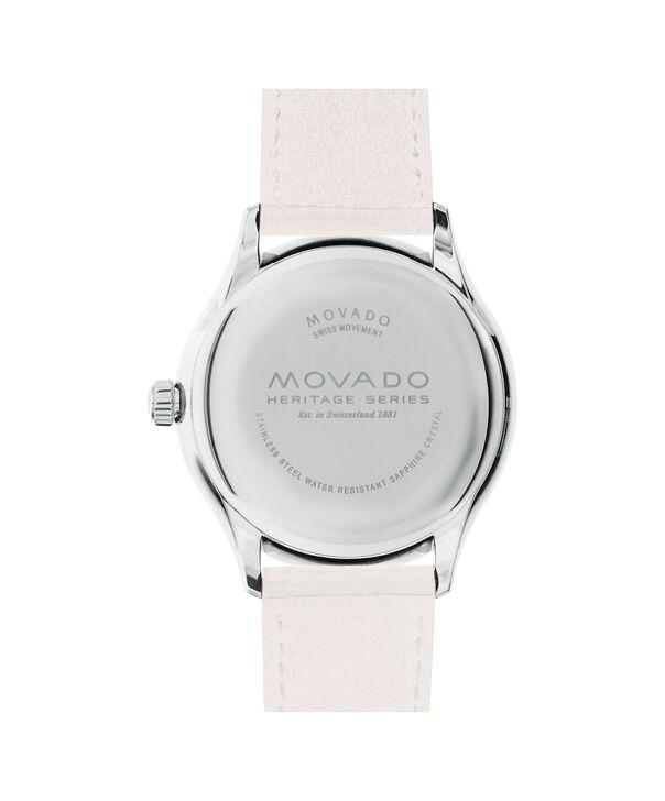 MOVADO Movado Heritage Series3650063 – Montre de 40 mm pour hommes - Back view