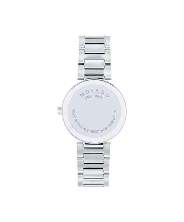 MOVADO Modern Classic0607102 – Montre-bracelet à cadran de 28 mm pour femmes - Back view