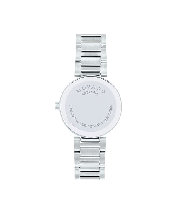 MOVADO Modern Classic0607102 – Women's 28 mm bracelet watch - Back view