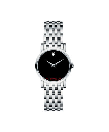 MOVADO Red Label0606107 – Montre automatique de 26 mm pour femmes - Front view