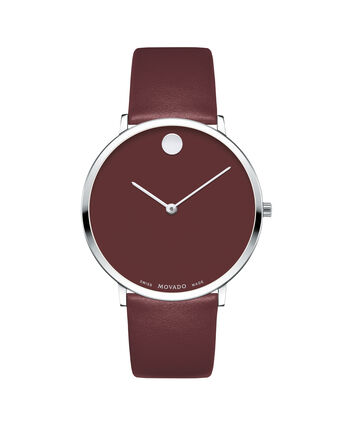 MOVADO Modern 470607256 – Movado.com EXCLUSIVE 40mm strap watch - Front view