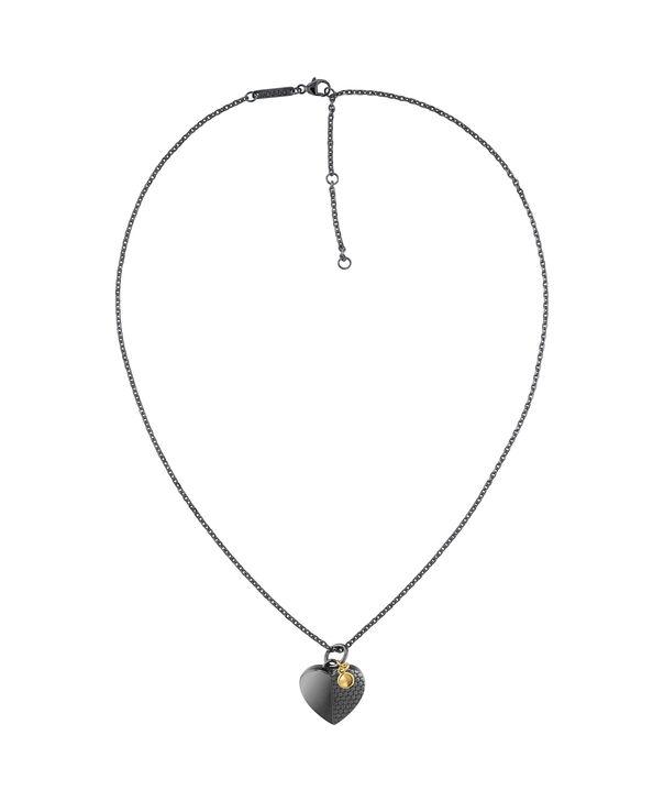 MOVADO Movado Heart Necklace1840029 – Movado Heart Black Necklace - Side view