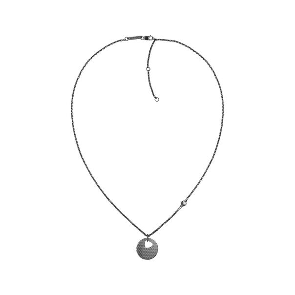 MOVADO Movado Heart on Chain Necklace1840009 – Black Heart Necklace - Side view