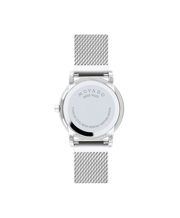 MOVADO Museum Classic0607306 – Women's 28 mm mesh bracelet watch - Back view