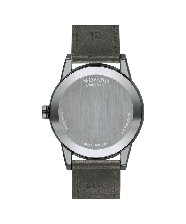 MOVADO Museum Sport0607265 – Men's 42 mm strap watch - Back view