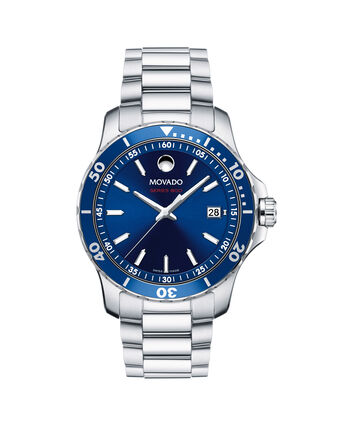 MOVADO Series 8002600137 – Montre-bracelet à cadran de 40 mm pour hommes - Front view