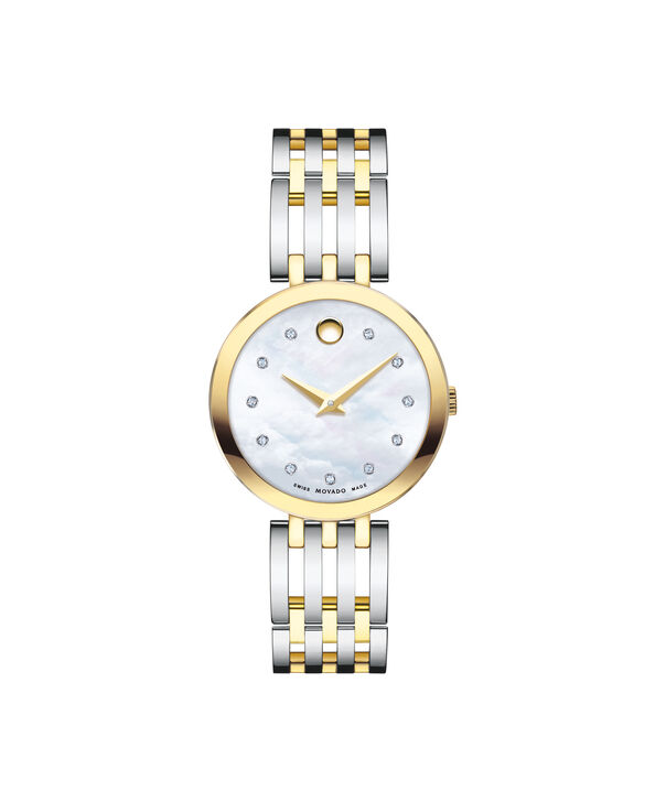 MOVADO Esperanza0607305 – Montre-bracelet à cadran de 28 mm pour femmes - Front view