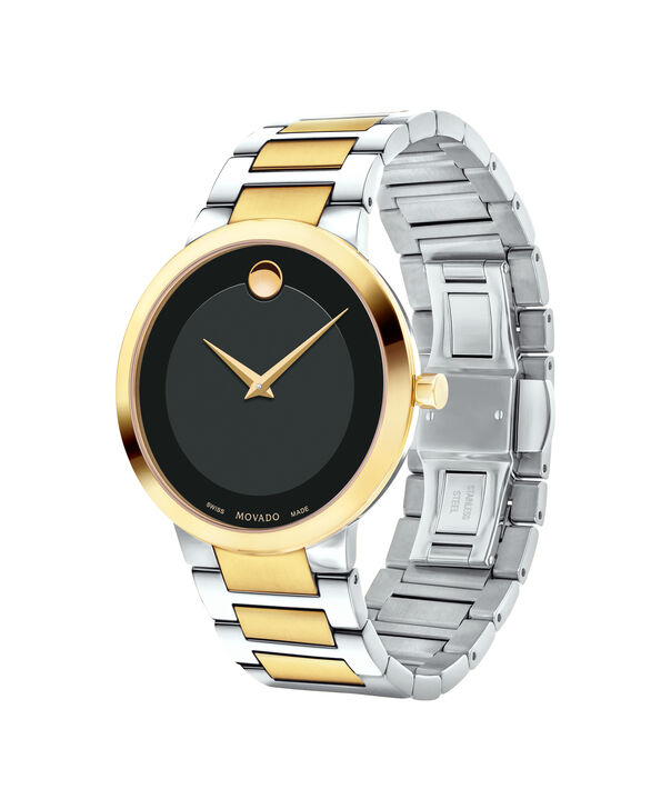 MOVADO Modern Classic0607120 – Men's 39.5 mm bracelet watch - Side view