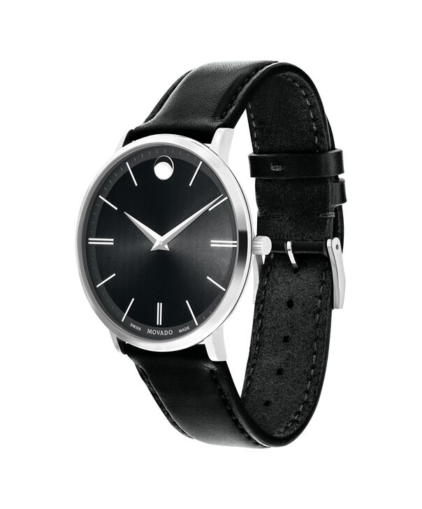 MOVADO Movado Ultra Slim0607086 – Men's 40 mm strap watch - Side view