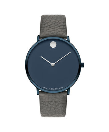 MOVADO Modern 470607333 – 40 mm Modern 47 on Textured Strap - Front view