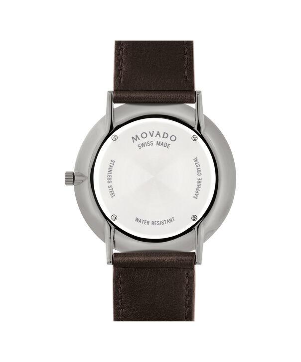 MOVADO Movado Ultra Slim0607377 – Ultra Slim 40 mm sur bracelet souple - Back view