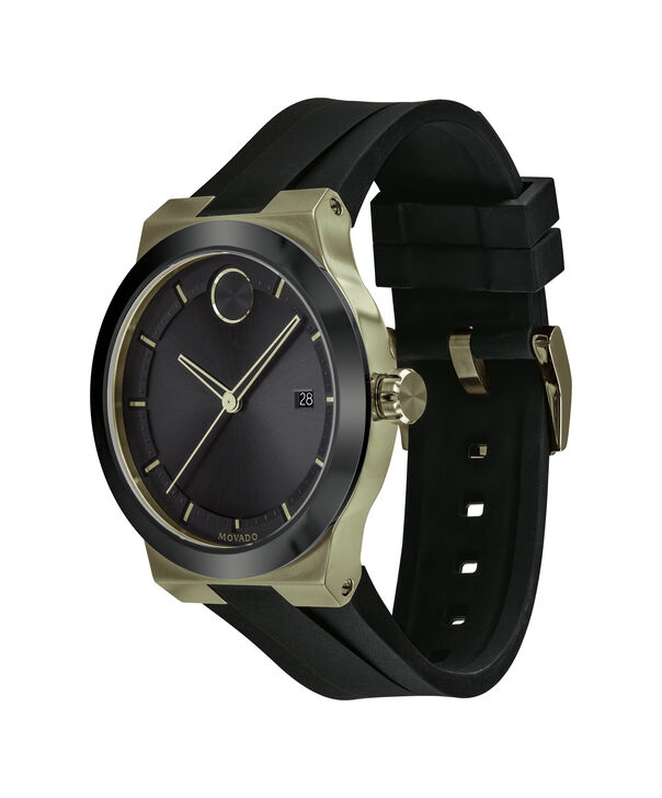 MOVADO Movado BOLD3600625 – 42mm Movado BOLD Fusion on Strap - Side view