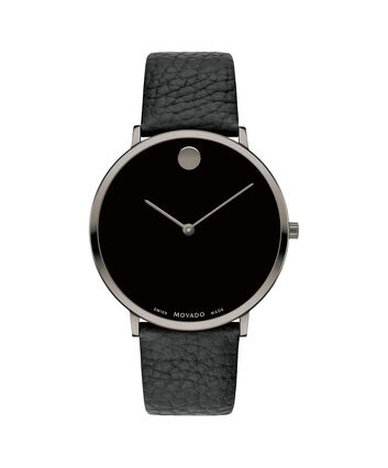 MOVADO Modern 470607334 – NHG 40 mm sur bracelet texturé - Front view