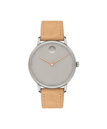 MOVADO Movado Face3640013 – Women's 35 mm strap watch - Front view