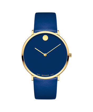 MOVADO Modern 470607254 – Movado.com EXCLUSIVE 40mm strap watch - Front view