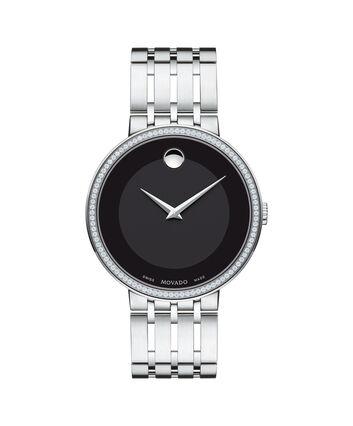 MOVADO Esperanza0607238 – Montre-bracelet à cadran de 39 mm pour hommes - Front view