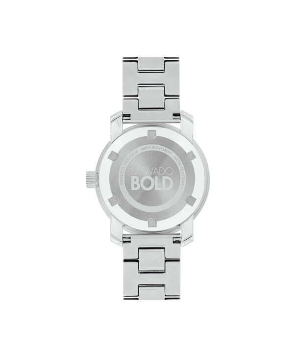 MOVADO Movado BOLD3600464 – 30 mm Metals bracelet watch - Back view