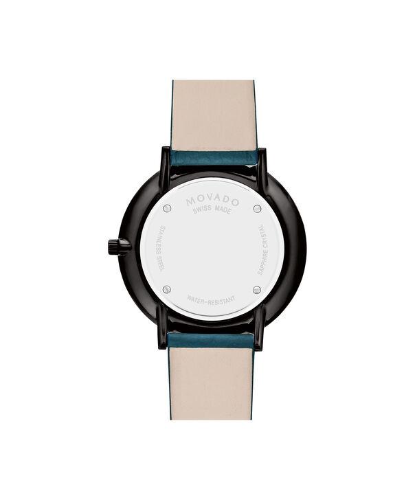 MOVADO Modern 470607342 – NHG 35mm sur bracelet texturé - Back view