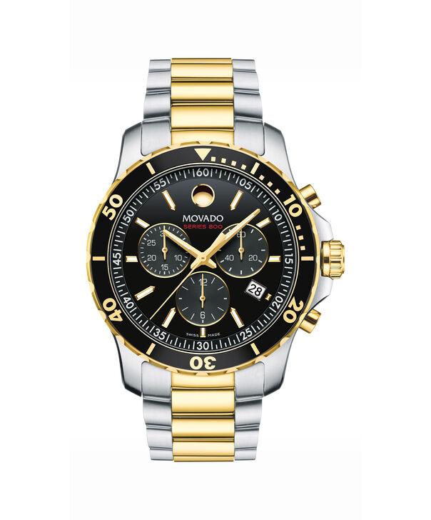 MOVADO Series 8002600146 – Montre-bracelet à cadran de 40 mm pour hommes - Front view