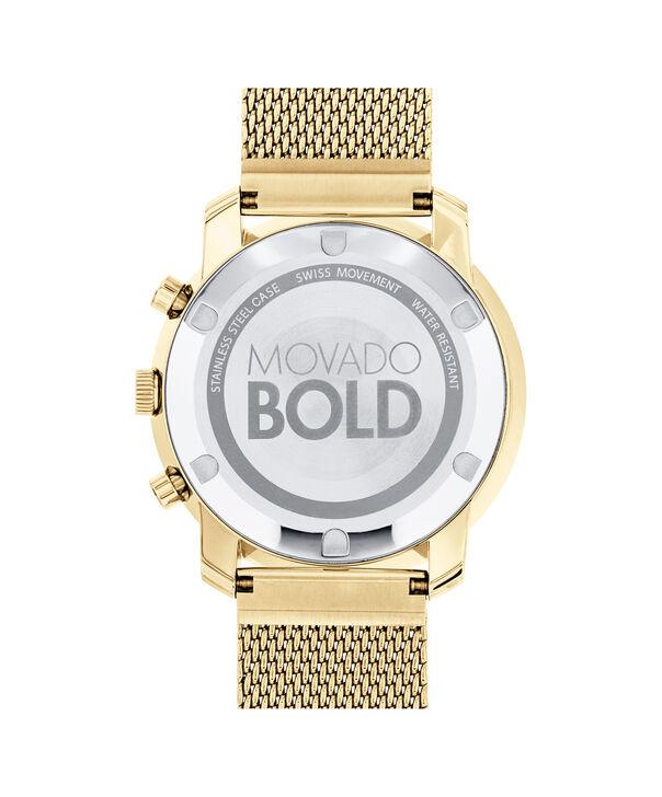 MOVADO Movado BOLD3600372 – Chono de 44 mm avec bracelet à maillons plats - Back view