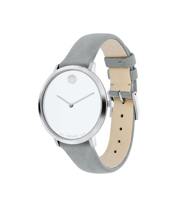 MOVADO Modern 470607344 – 35 mm Modern 47 on Strap - Side view