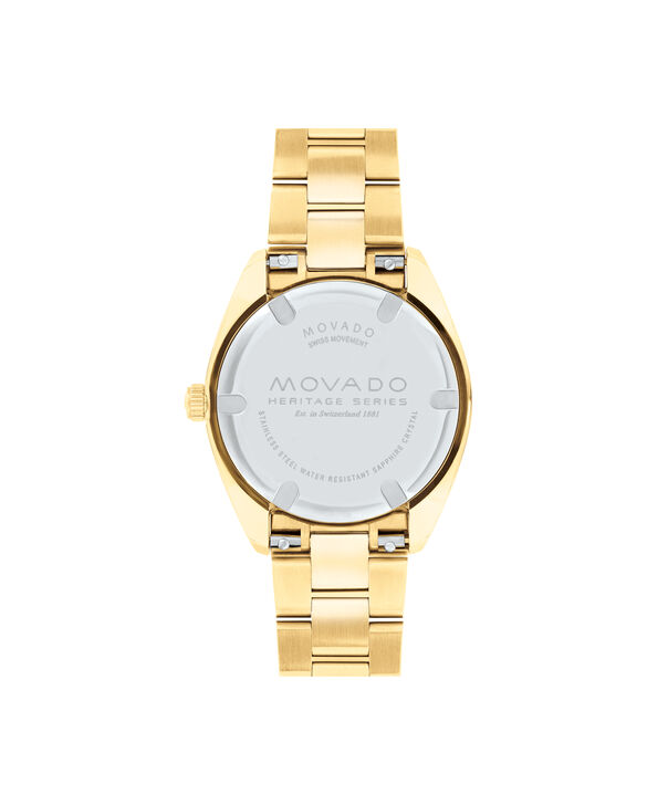 MOVADO Movado Heritage Series3650038 – Women's 31 mm bracelet watch - Back view