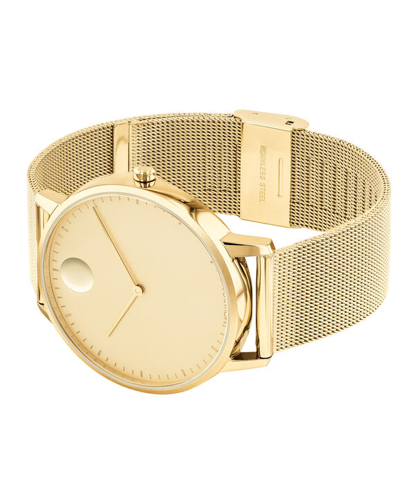 MOVADO Movado Face3640007 – Men's 41 mm bracelet watch - Side view