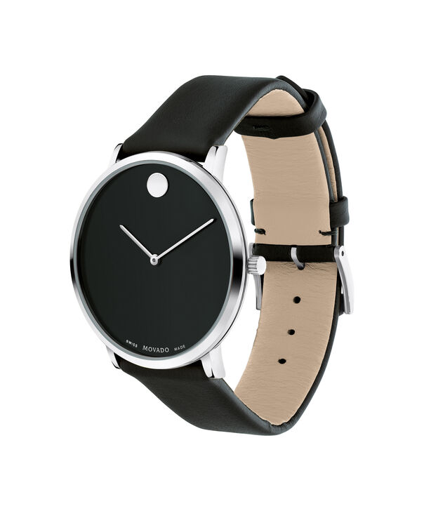 MOVADO Modern 470607262 – Movado.com EXCLUSIVE 40mm strap watch - Side view