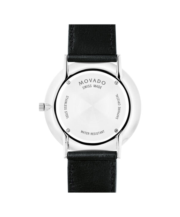 MOVADO Movado Ultra Slim0607086 – Men's 40 mm strap watch - Back view
