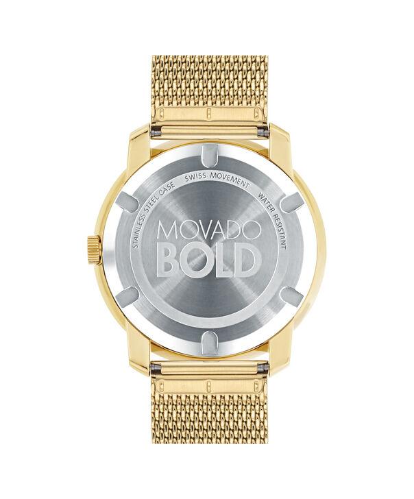 MOVADO Movado BOLD3600373 – Montre à cadran plat de 44 mm et bracelet en mailles - Back view
