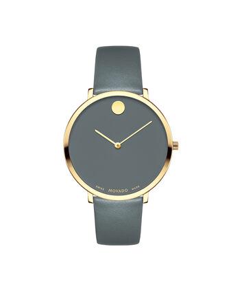 MOVADO 70th Anniversary0607140 – Montre à bracelet souple avec cadran en de 35 mm - Front view