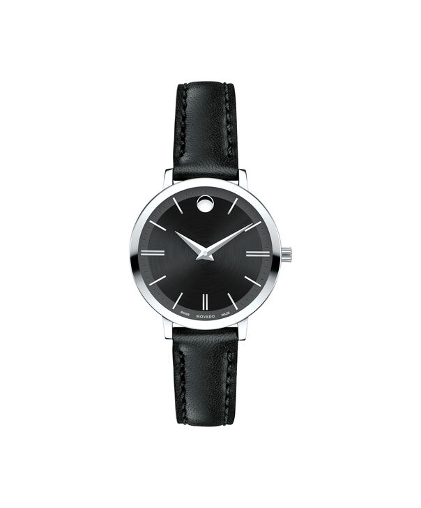 Movado | Movado Ultra Slim Women's Small Stainless steel watch with Black dial