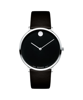 MOVADO Modern 470607262 – Movado.com EXCLUSIVE 40mm strap watch - Front view