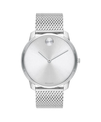 MOVADO Movado Bold3600589 – BOLD 42mm mince, mailles - Front view