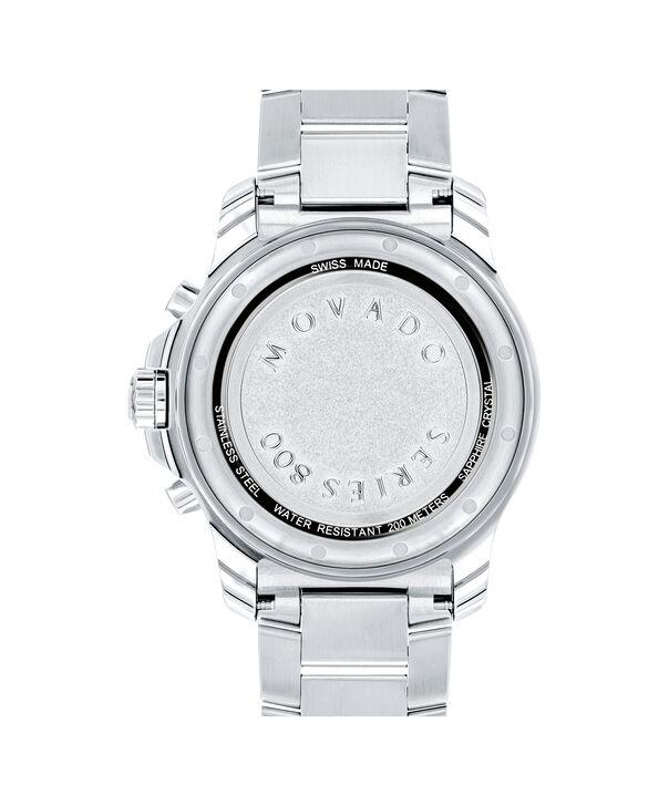 MOVADO Series 8002600141 – Men's 42 mm bracelet chronograph - Back view