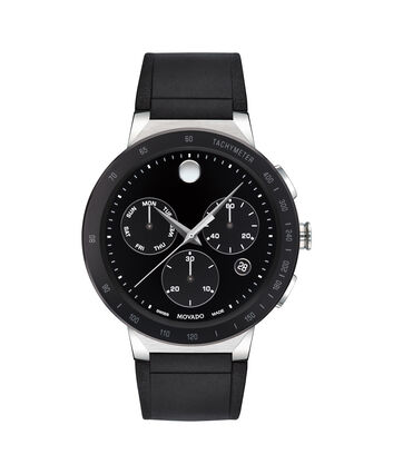 MOVADO Sapphire0607240 – Men's 43 mm strap chronograph watch - Front view